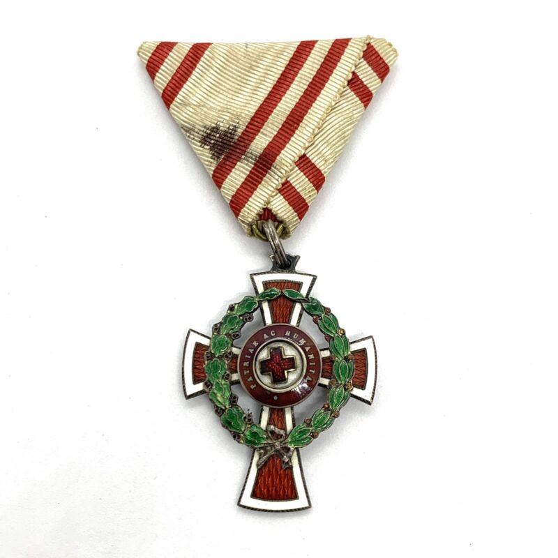 Austria-Hungary Red Cross Order Of Merit. 2nd Class War Service.