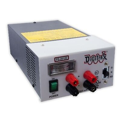 Digitrax 2018 PS2012E 20 Amp Power Supply 13.8-23VDC - Replaces PS2012 - New!