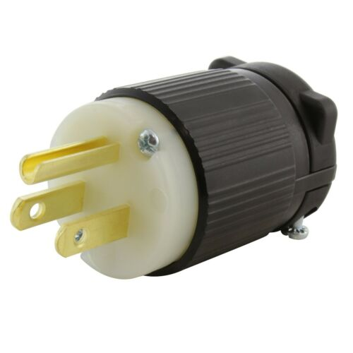 NEMA 5-15P 15 Amp Household Straight Blade Plug Assembly by AC WORKS®
