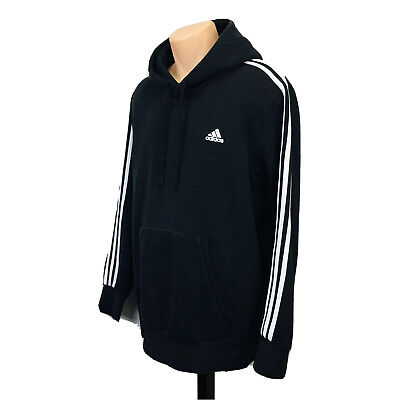 Adidas Pullover Hoodie Sweater (Men's Size XL) Black