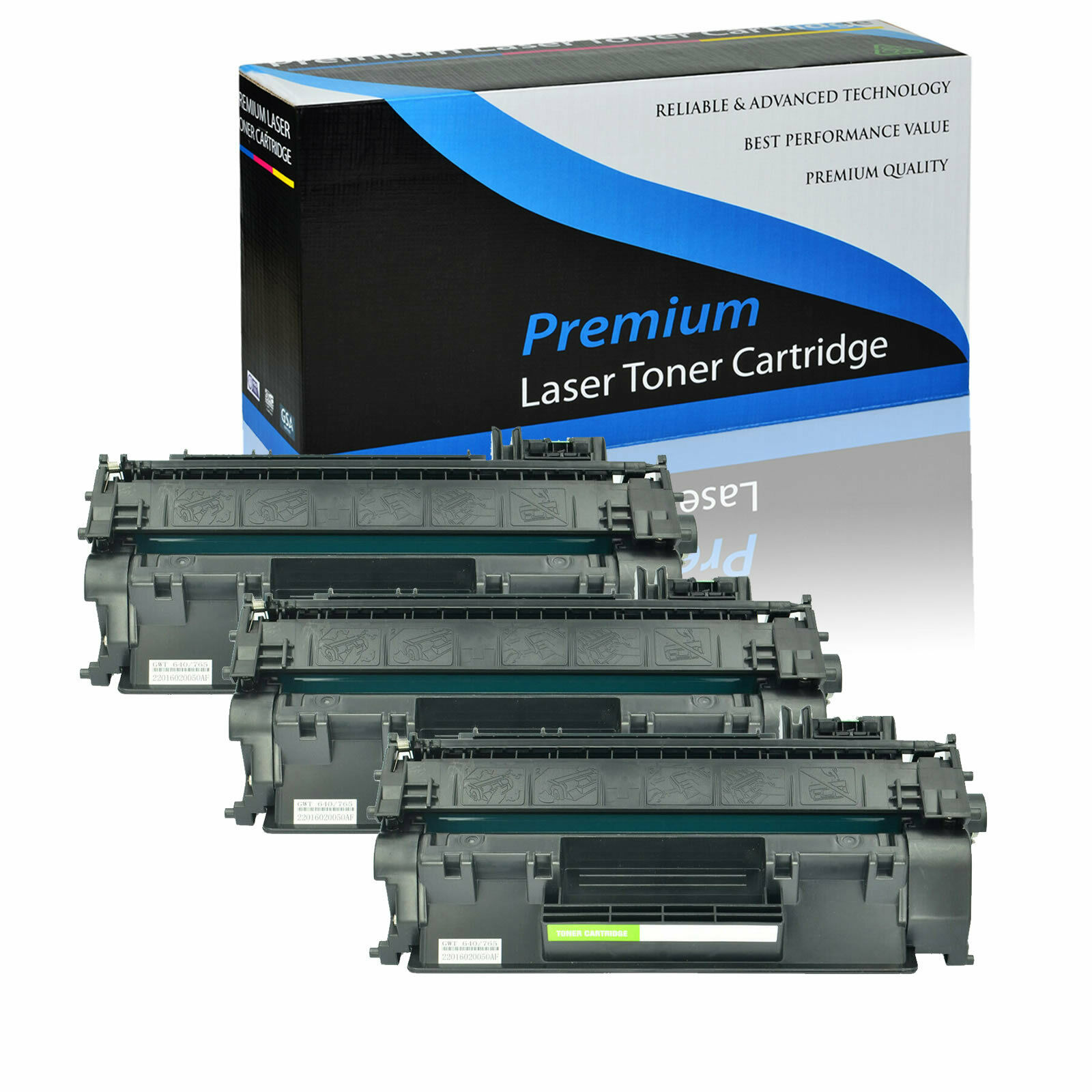 8 Pack High Yield CF280X 80X Toner For HP LaserJet Pro 400 M401dn M401dw M425dw