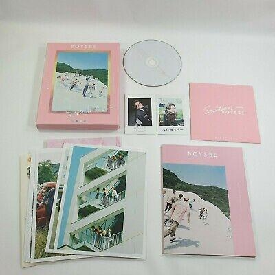 SEVENTEEN 2nd Mini album Boys Be CD Booklet Vernon Photocard K-POP Hide version