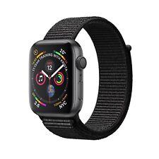 NUEVO Apple Watch Series 4 GPS 44mm Space Gray Aluminium Black Sport Loop MU6E2