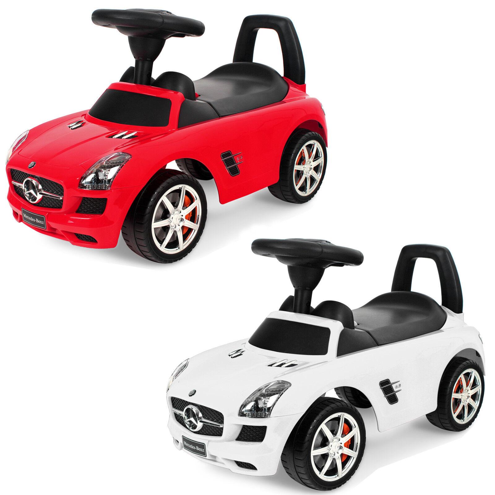 Mercedes Benz 332 Rutscher Babyrutscher Kinderfahrzeug Kinder Auto Musik LIZENZ