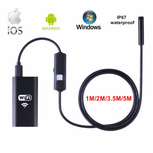 Wifi Wireless Waterproof Endoscope Inspection Camera for Android iPhone 7 Plus