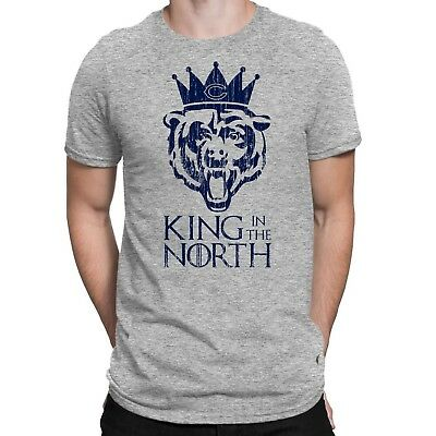 CHICAGO BEARS NFC NORTH CHAMPIONSHIP T-SHIRT - KING IN THE NORTH - Sizes S-5XL
