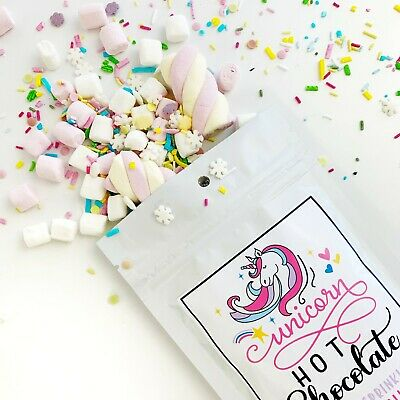 Marshmallow Christmas Treats (Unicorn Hot Chocolate | Christmas Eve Treat | Cocoa, Toppings and)