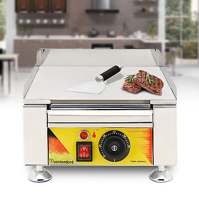 2kw Electric Griddle Portable Flat Top Outdoor Cooking Bbq Grill Table Stove