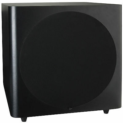 Dayton Audio Sub 1200 12  120 Watt Powered Subwoofer