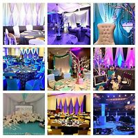 Wedding Decor - Chair Covers - Candy Buffets