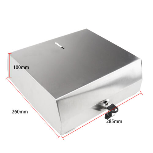201 Stainless Steel Wall Mount C Fold Paper Towel Dispenser