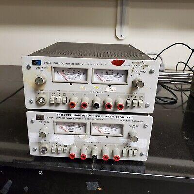 Agilent Hp Keysight 6205c Dual Dc Power Supply Lot Of 2