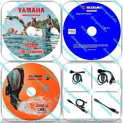 YAMAHA SUZUKI EVINRUDE Outboard Diagnostic  KIT / Jet Boat / WaveRunner