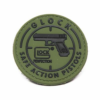 Glock Morale Patch - PVC Morale Patch, Hook Backed by NEO Tactical Gear