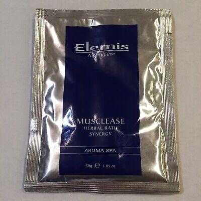 Elemis Musclease Herbal Bath Synergy ONE Aroma Spa Packet 30g 1.05oz Aromapure - Herbal Spa Bath