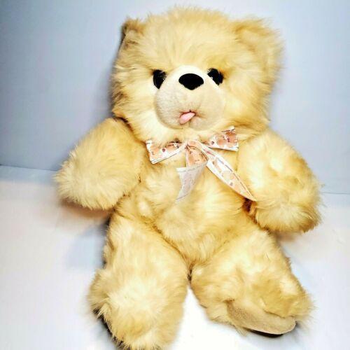 "VINTAGE FAIRVIEW 16"" LIGHT BROWN STUFFED TEDDY BEAR  ANIMAL PLUSH TOY"
