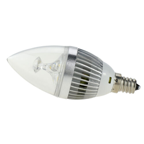 Brightest Led Candelabra Bulb: 6x E12 Candelabra 110V Dimmable Silver LED Chandelier