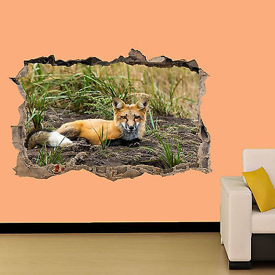FOX IN NATURE WALL STICKER ROOM DECORATION DECAL MURAL A CLASS - Decorate A Classroom