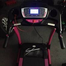 X-9 PRO CARDIO TECH PINK RUNNING MACHINE TREADMILL Helensvale Gold Coast North Preview
