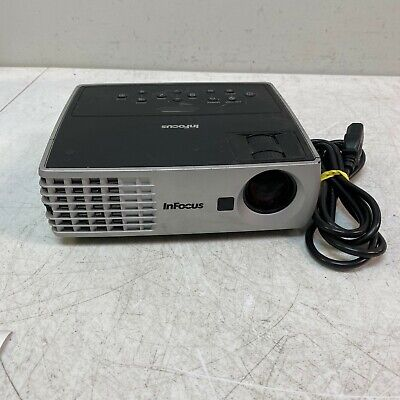 InFocus IN1102 DLP LCD Projector 2200 Lumens 1280x800 3500 Lamp Hours