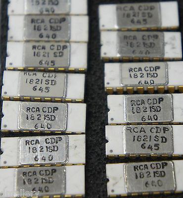 Nos Rca Cdp1821sd Qty 1 Cerdip Cdp1821   Ship In Usa Tomorrow