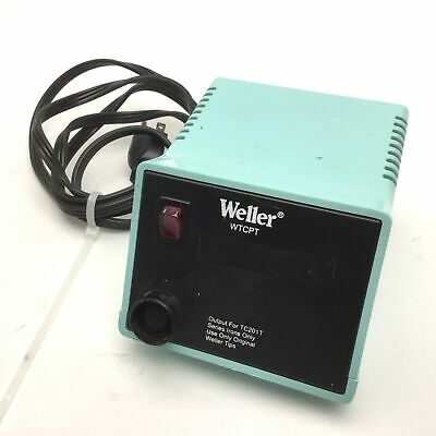 Weller Pu120t Soldering Station Power Unit Voltage 120vac 60w 60hz