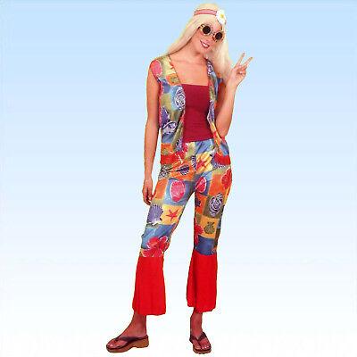 Hippie Kostüm Gr. 40/42 Frauen 70er Jahre  Hippiekostüm Hippy Flower Power