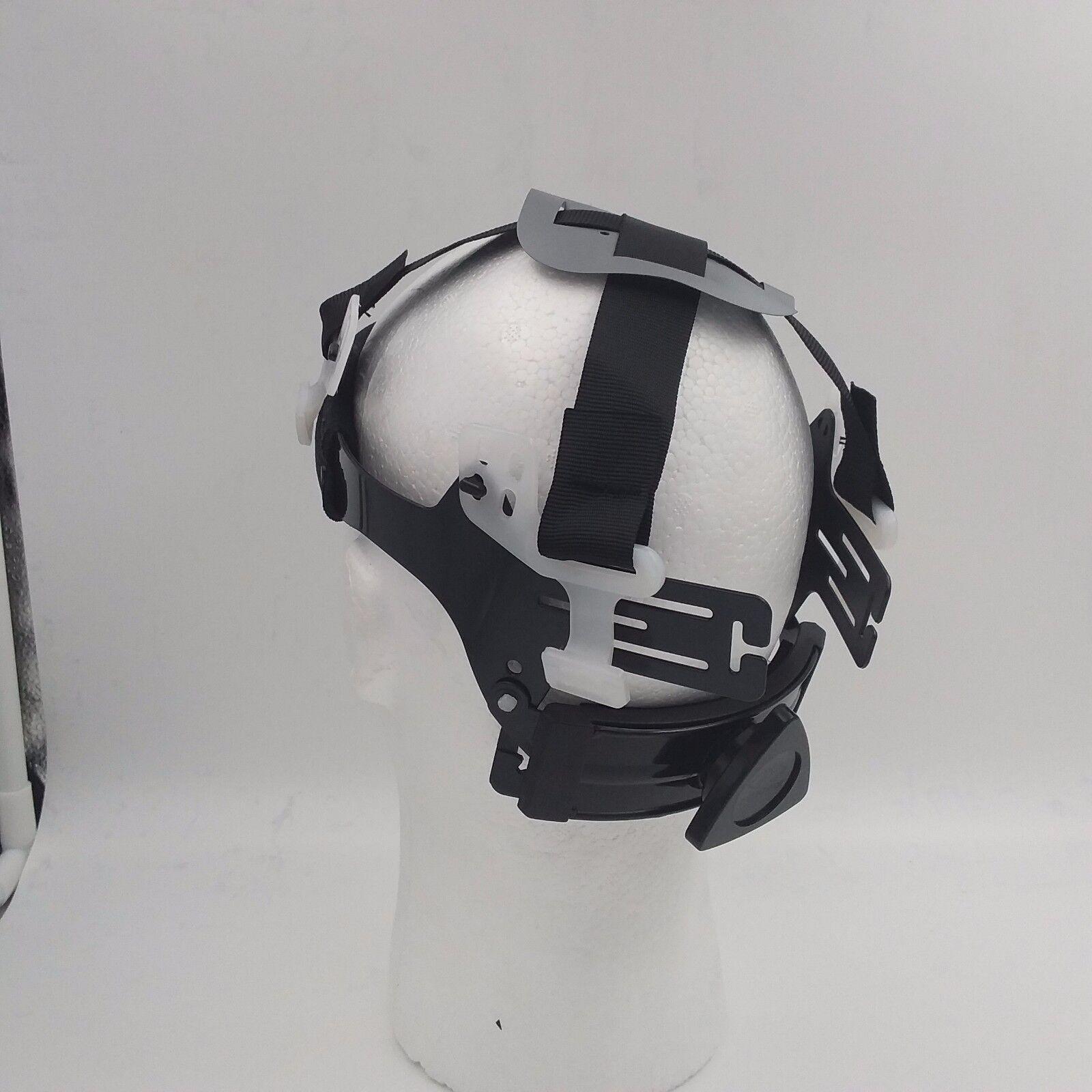 Hard Hat FULL BRIM custom hydro dipped , OSHA approved NEW URBAN CAMO HI VIS 4