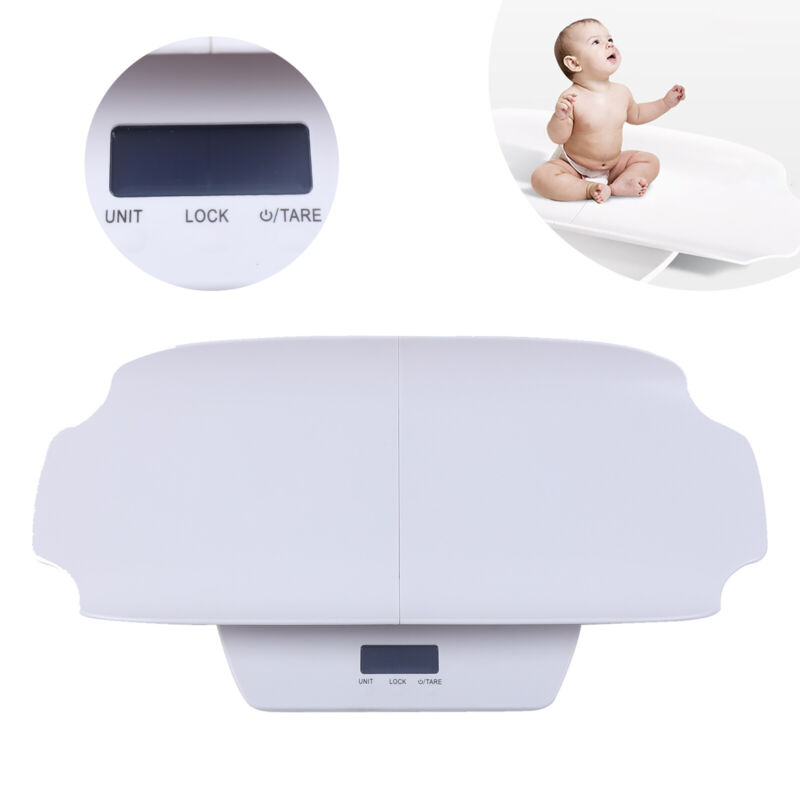 100Kg Multi-Function Electronic Mother&Baby Pet Scale Large Screen Display+Ruler