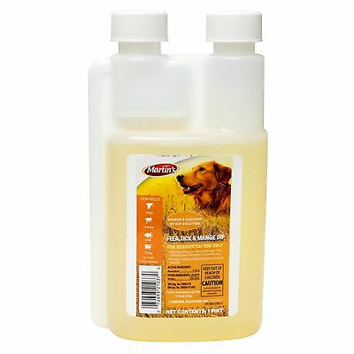 Flea Dip For Dogs Flea Dip Flea Tick Mange Mite Dip Mange Dip For Dogs 16 oz Btl