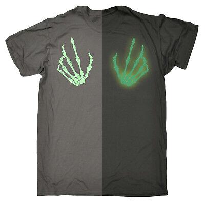 rts Boobs GLOW IN THE DARK Funny Fancy Dress Disco T-SHIRT (Glow In The Dark Halloween T-shirts)