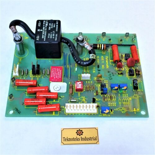 EATON DYNAMATIC 15-597-31113 ISOLATOR PCB BOARD