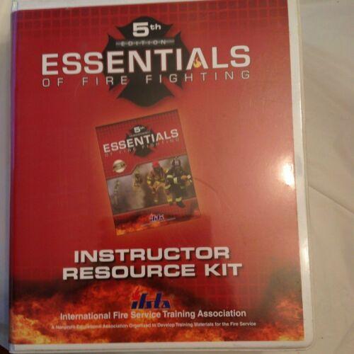 Essentials of Fire Fighting Instructor Resource Kit, IFSTA