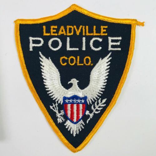 Leadville Police Colorado Patch