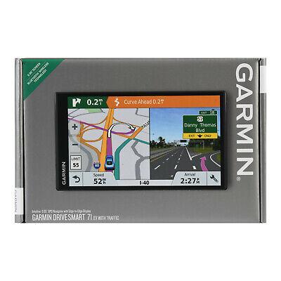 "SEALED Garmin DriveSmart 71 EX w/traffic 6.95"" GPS (Latest Model) EDGE-TO-EDGE"