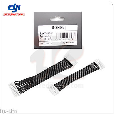 DJI Inspire 1 Part 17 Fast-Mounting Gimbal Port Cable DJI RC Drone Quadcopter