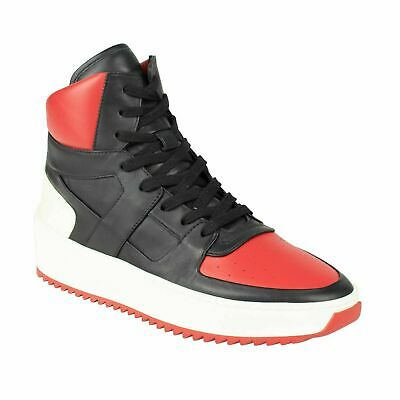 Basketball-high-top-sneakers (NIB FEAR OF GOD Varsity Red/Black Basketball High-Top Sneakers Shoes 8/41 $1120)
