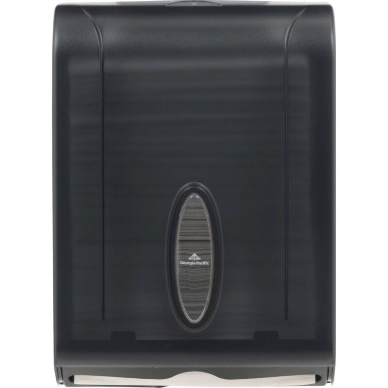 Georgia-Pacific C-Fold/Multifold Towel Dispenser, Gray