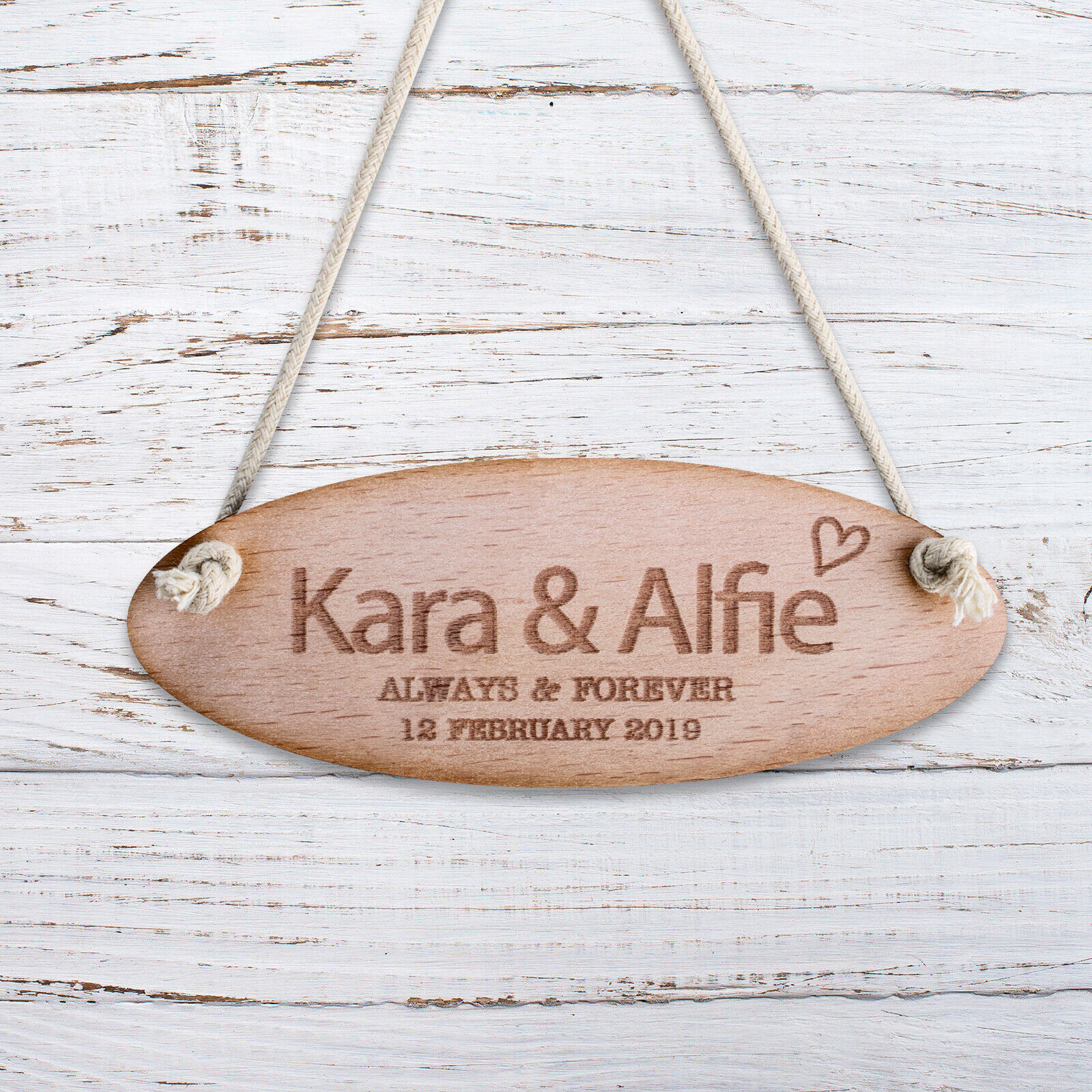 Details about Personalised Wooden Door Signs Shabby Chic Hanging Plaques  Any Name Kids Room