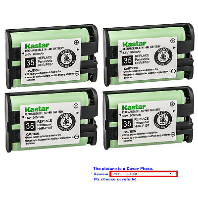 Kastar Battery Compatible with Panasonic TYPE 35 PQSUHGLA1ZA Cordless Battery