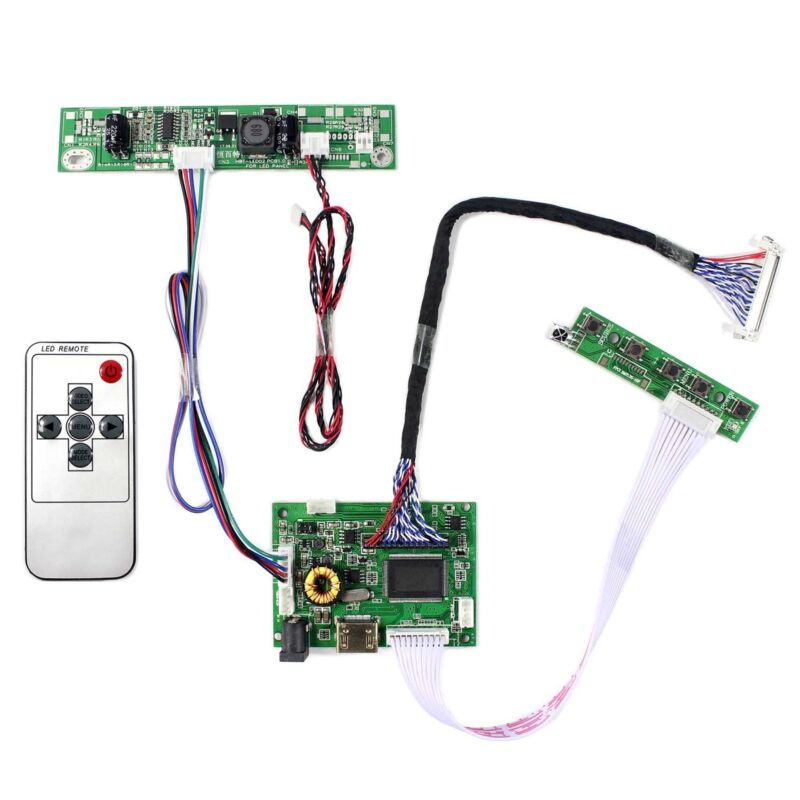 """HD MI Audio LCD Controller Board For 21.5"""" 23.8"""" T215HVN01.0 LM238WF5-SSA1 LCD"""