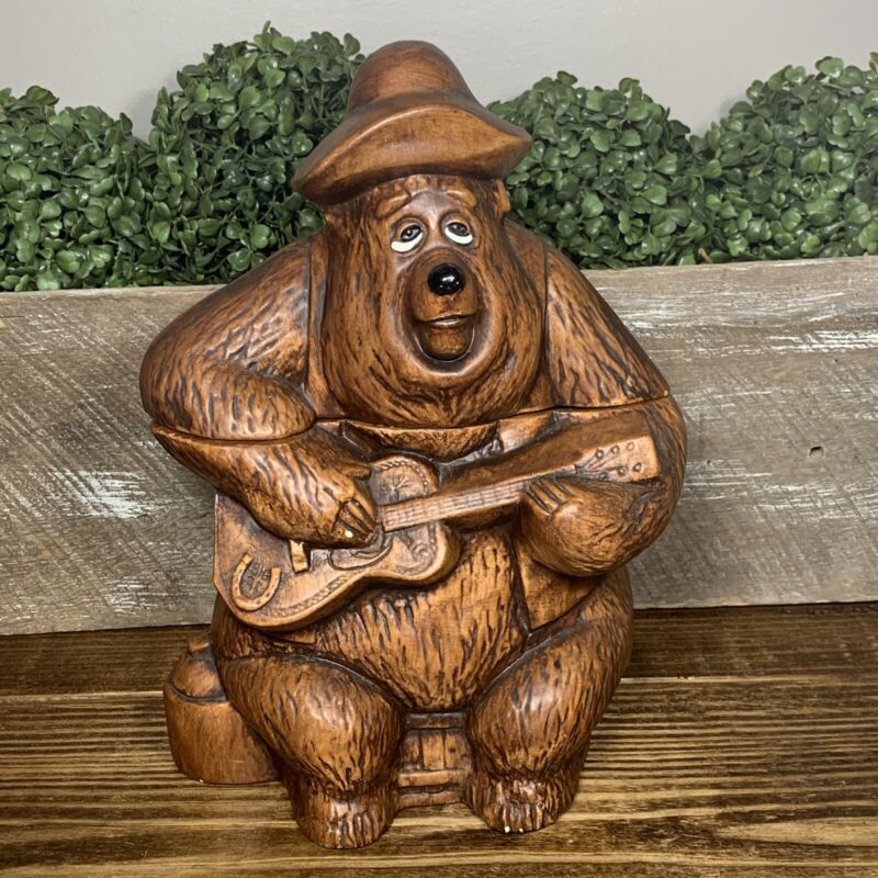 Vintage Disney Big Al Country Bear Jamboree Cookie Jar Walt Disney Productions