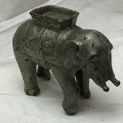 Vintage Antique Cast Iron Bank Elephant A C Williams