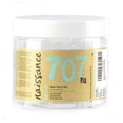 Naissance Aloe Vera Gel - 200g - Feuchtigkeitspflege parfümfrei vegan