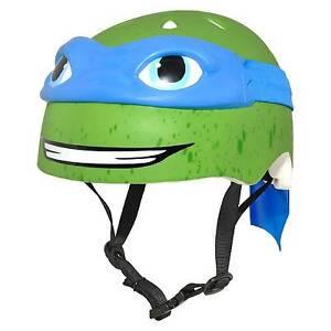 Nickelodeon Teenage Mutant Ninja Turtles Leonardo 3d Bike Helmet Child