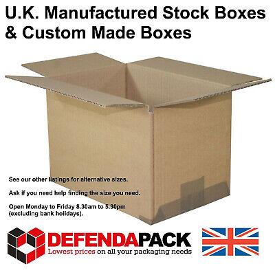 "Cardboard POSTAL BOXES Posting Shipping 10 x  9"" x 6"