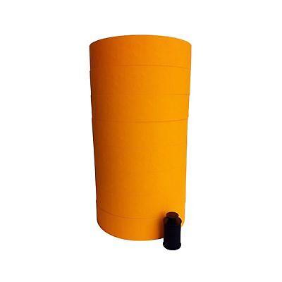 Monarch 1136 Price Gun Orange Labels - 8 Rolls