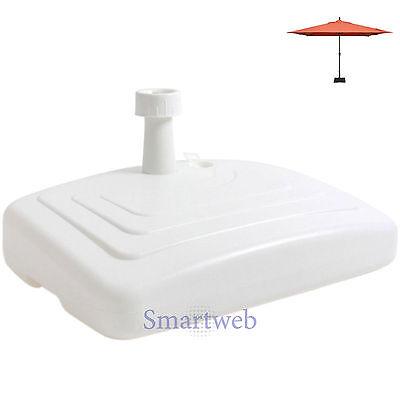 XL Schirmständer Sonnenschirmhalter Therasse Sonnenschirm Schirm Halter Wasser