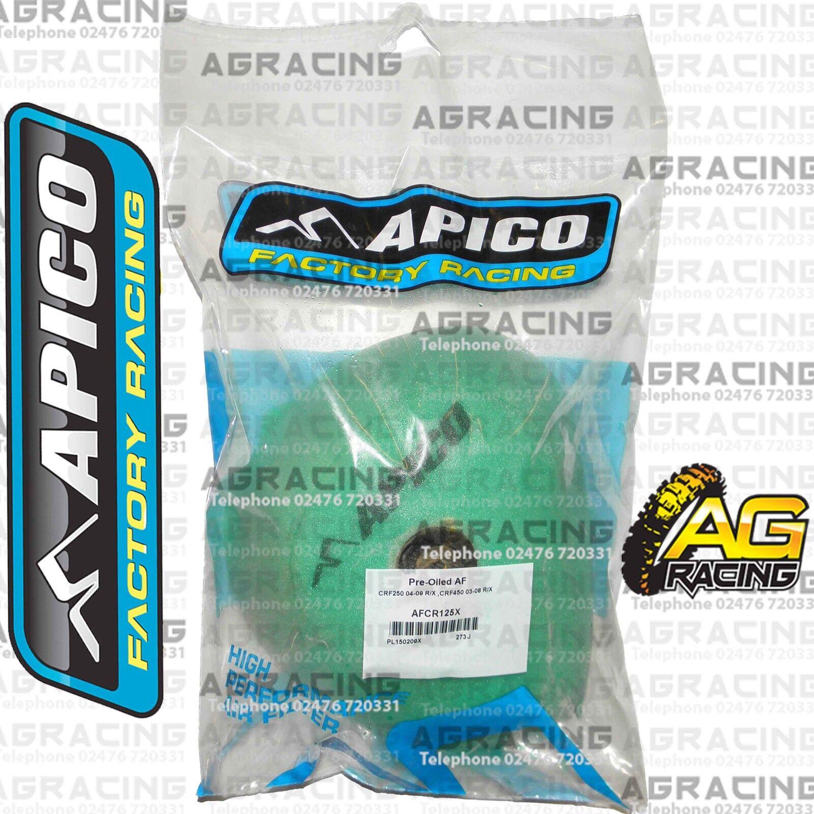 Putoline Pre-Oiled Foam Air Filter For Kawasaki KXF 250 2007 07 Motocross Enduro