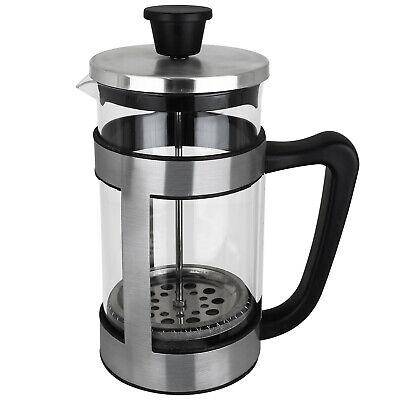 Alpina Kaffeebereiter Kaffeekanne Kaffeepresse French Press Glas Kaffee 1L NEU ()